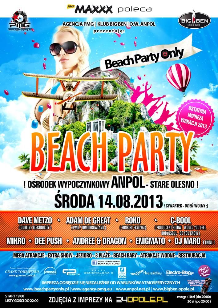 Beach Party Only